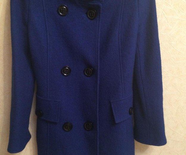 Пальто (синее). Фото 2. Тольятти.