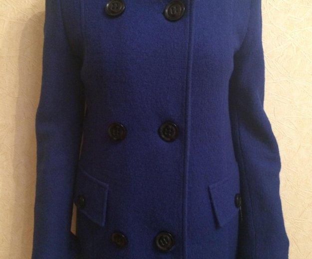 Пальто (синее). Фото 3. Тольятти.