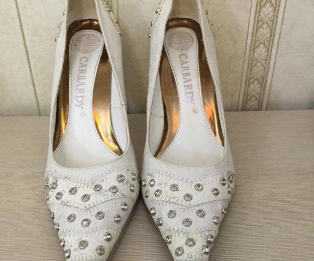 Туфли женские свадебные. Фото 1. Балашиха.