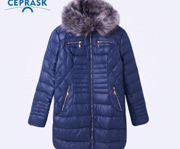 Удлиненная куртка,новая,зимняя, паузу. Фото 1. Калининград.
