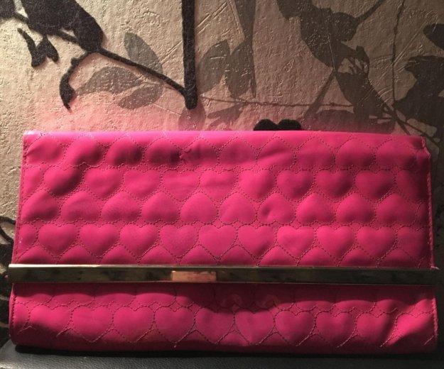Клатч розовый. Фото 1. Москва.