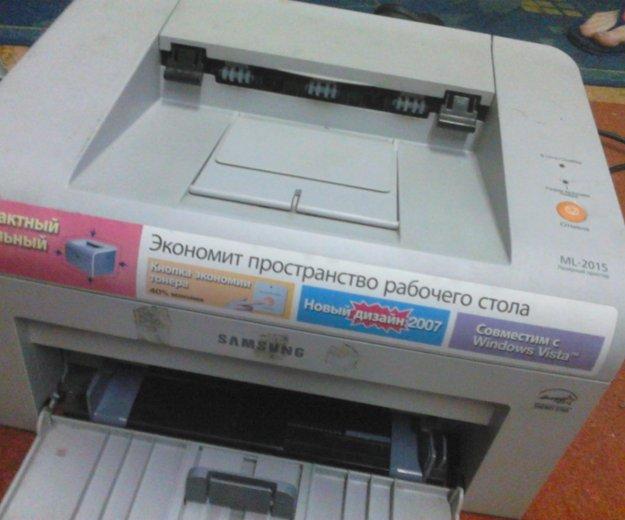 2 принтера samsung ml2015. Фото 1. Хабаровск.