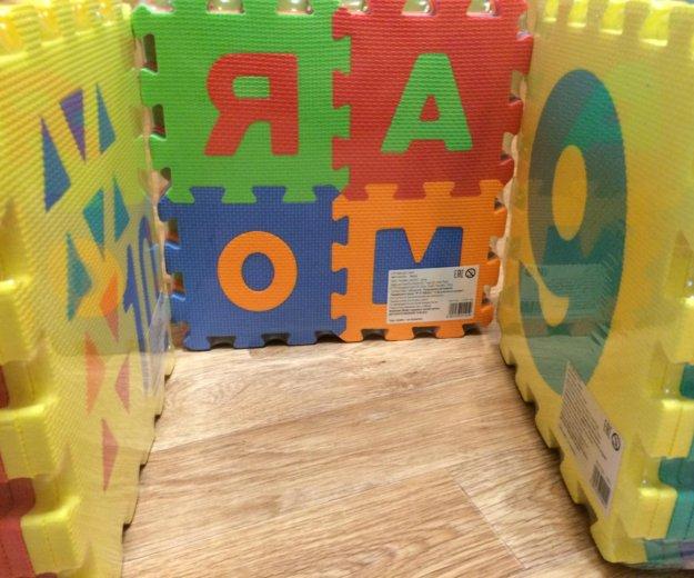 Коврик пазл алфавит для детей. (цифры). Фото 2.