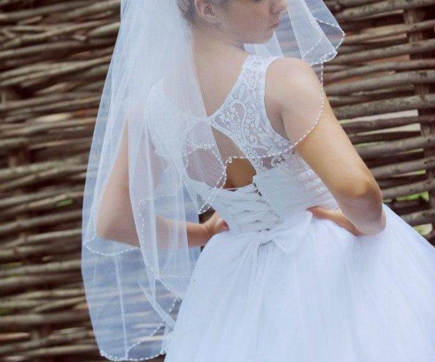Шикарное свадебноеплатье. Фото 2. Новокузнецк.