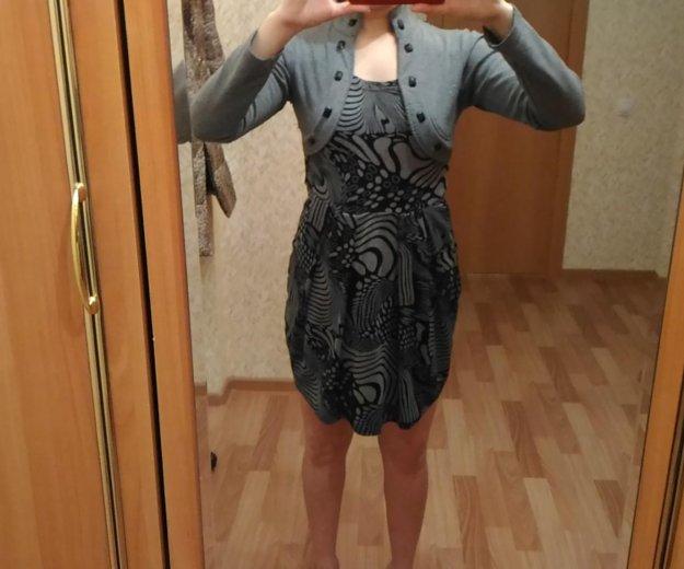 Продам серое платье. Фото 1. Пермь.