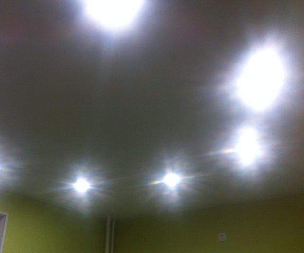 Классический белый потолок на кухне. Фото 1. Люберцы.