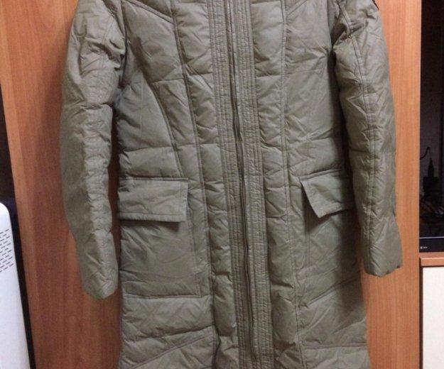 Пуховик-пальто. Фото 1.
