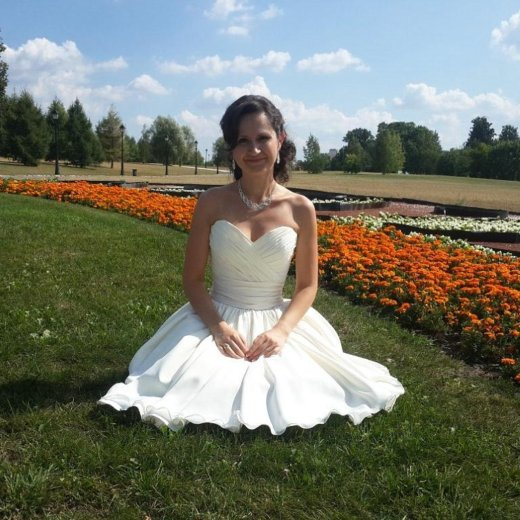 Свадебное- вечернее платье. Фото 2. Подольск.