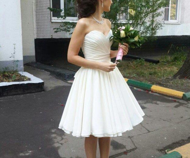 Свадебное- вечернее платье. Фото 1. Подольск.