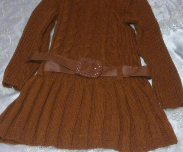 Новое, вязаное платье. Фото 1.