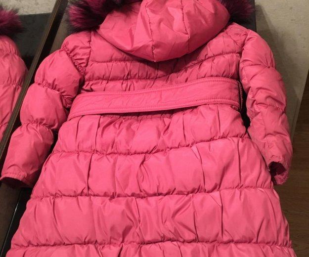 Пуховик- пальто 110-116. Фото 3. Химки.