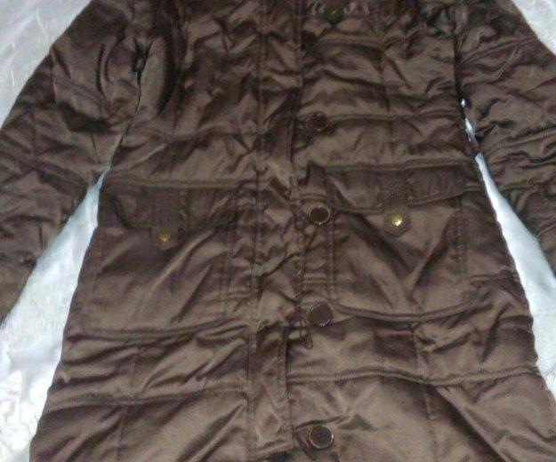 Пальто теплое на подростка. Фото 1. Владикавказ.