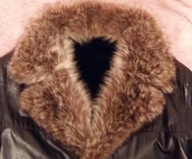 Куртка кожа. Фото 2. Жуковский.