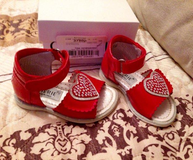 Детская обувь (босоножки)р19. Фото 2. Москва.