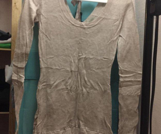 Платье intimissimi шерстяное с атласной юбкой. Фото 2. Москва.