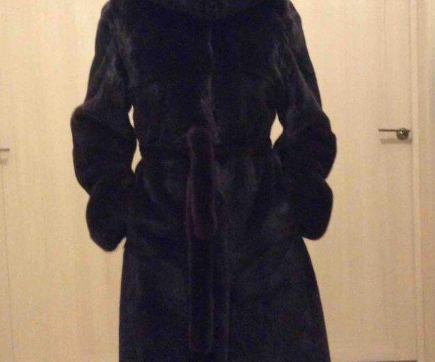 Норковая шуба. Фото 1. Москва.