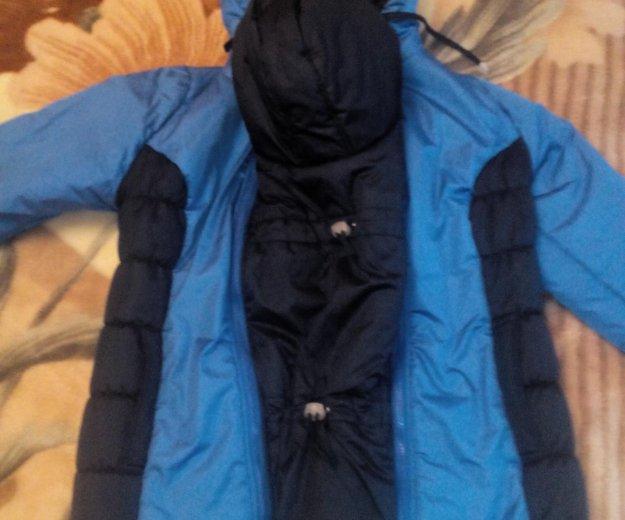 Зимняя слингокуртка 3 в 1(куртка для беременных). Фото 2. Новосибирск.