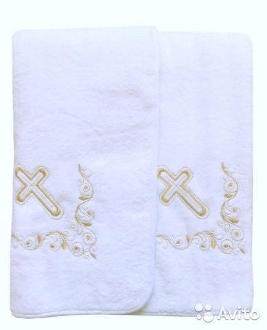 Новое крестильное полотенце. Фото 1. Москва.