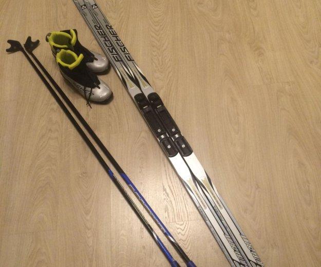 Лыжи палки и ботинки. Фото 1. Екатеринбург.