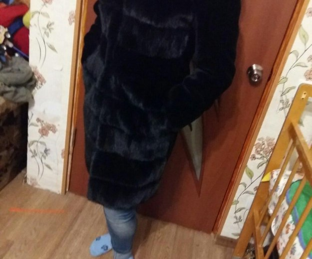Шуба натуральный мутон. Фото 1. Лениногорск.