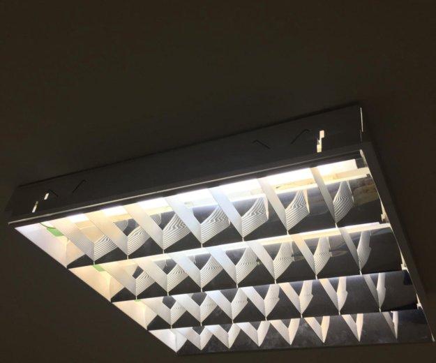 Светильники потолочные армстронг. Фото 1.