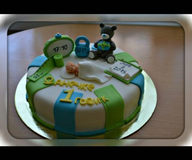 Мастичные торты. Фото 1. Мурино.