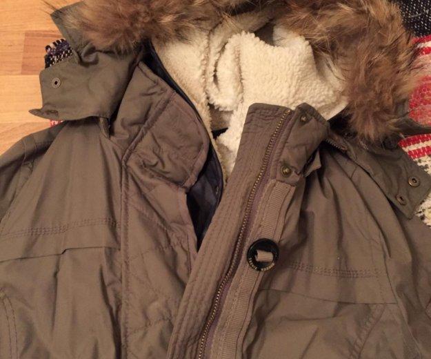 Парка - куртка зимняя с подкладкой. Фото 4.