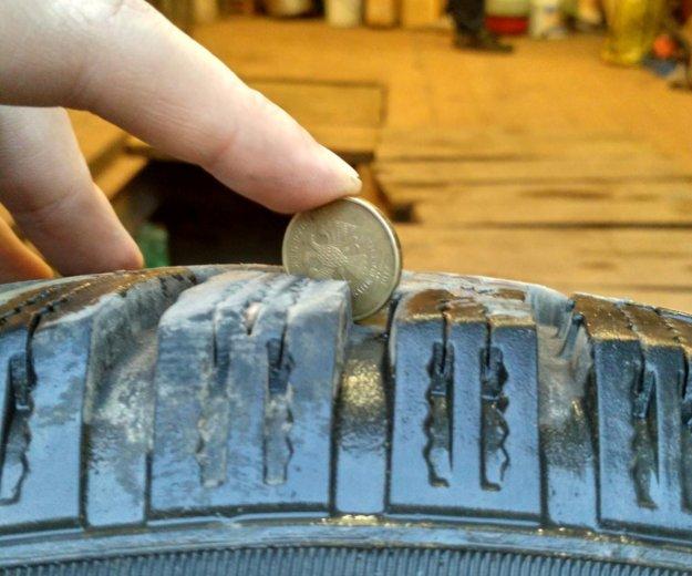 Комплект литых дисков с зимней резиной. Фото 1. Обнинск.