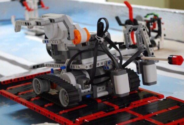 Mindstorms ev3. Фото 2. Иркутск.