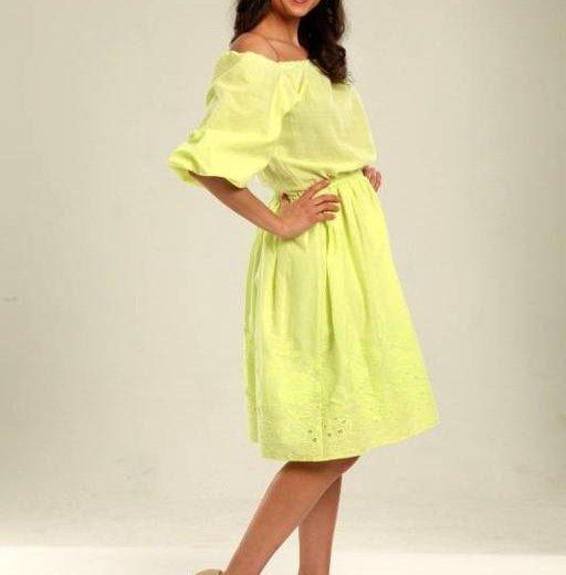 Платье.лен. Фото 1. Балашиха.