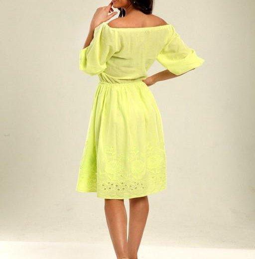 Платье.лен. Фото 2. Балашиха.