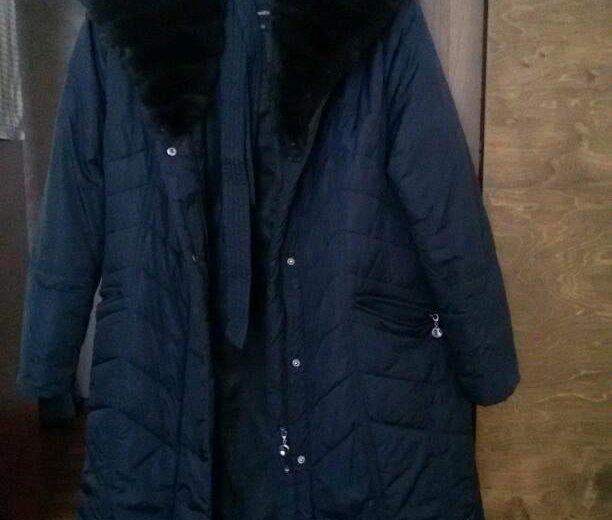 Зимнее пальто. Фото 2. Осинники.