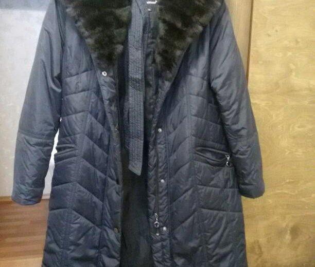 Зимнее пальто. Фото 1. Осинники.
