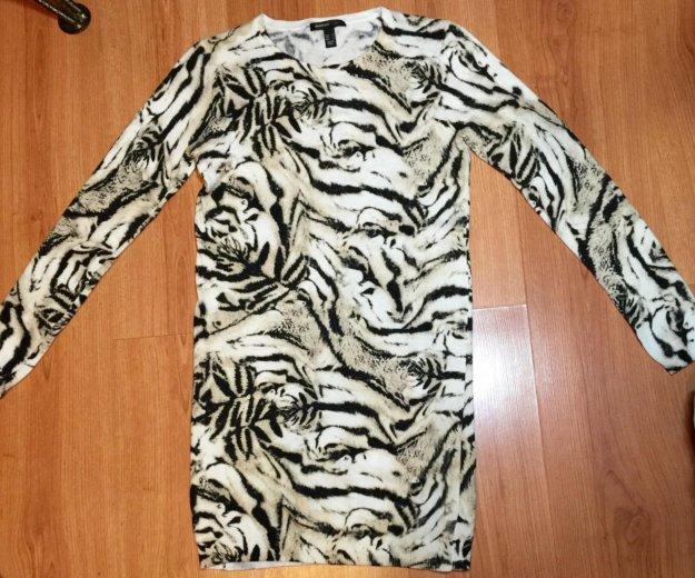 Великолепный удлинённый свитер mango. Фото 1. Москва.