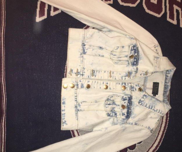 Накидка джинсовая неношеная новая. Фото 1. Санкт-Петербург.