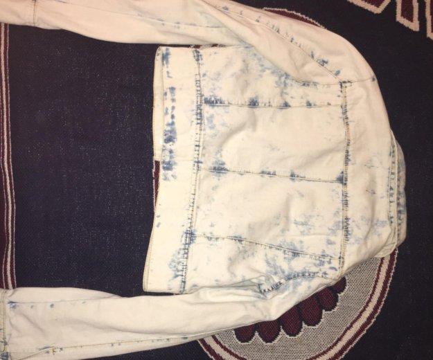 Накидка джинсовая неношеная новая. Фото 2. Санкт-Петербург.