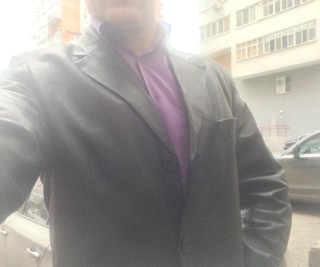 Пиджак кожаный. Фото 2. Москва.