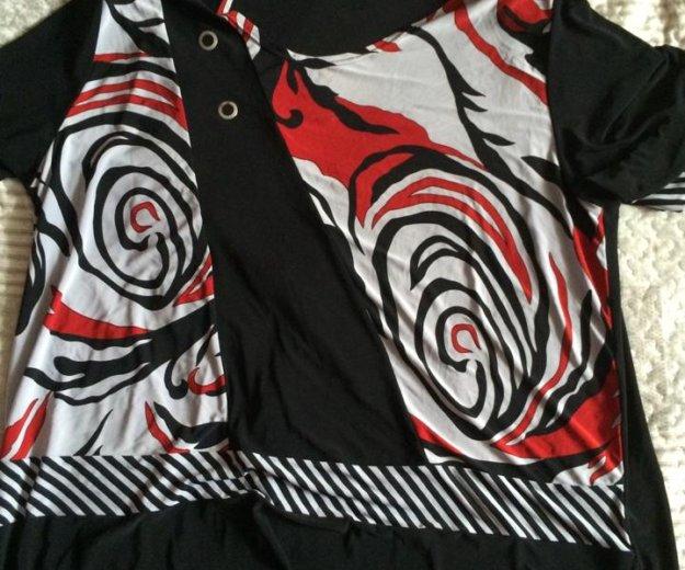 Блуза больших размеров. Фото 2. Павловский Посад.
