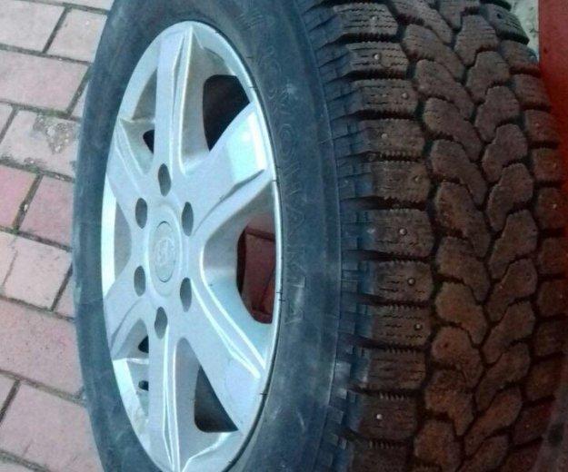 Зимние колеса на хендай старекс литые. Фото 2. Дмитров.