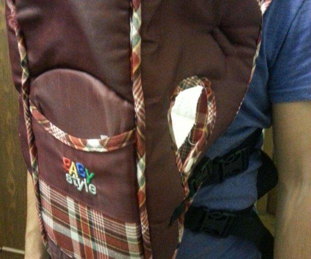 Переноска.рюкзак кенгуру. Фото 1. Химки.