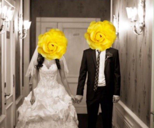 Шикарное свадебное платье. Фото 1. Темрюк.