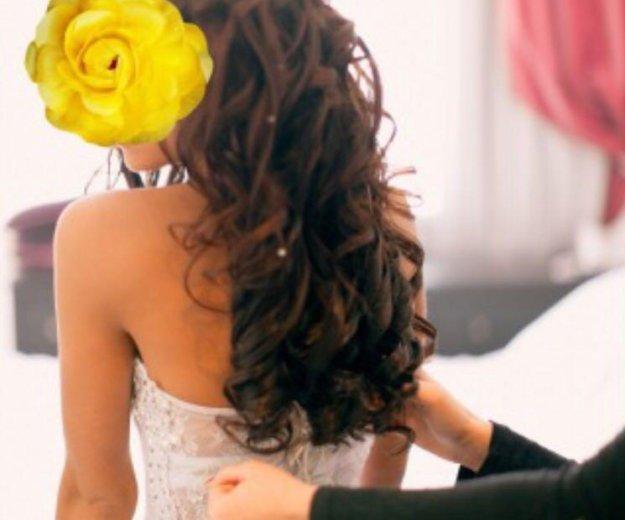 Шикарное свадебное платье. Фото 3. Темрюк.
