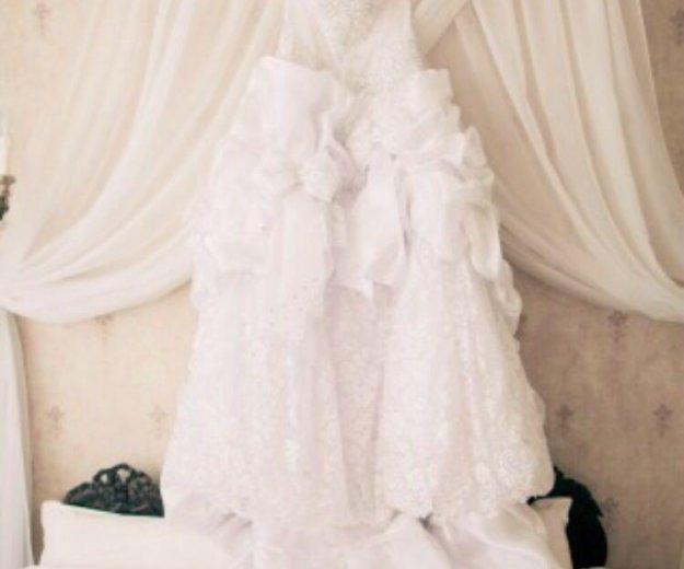 Шикарное свадебное платье. Фото 2. Темрюк.