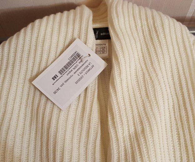 Пуловер белый новый 42-44. Фото 1. Москва.