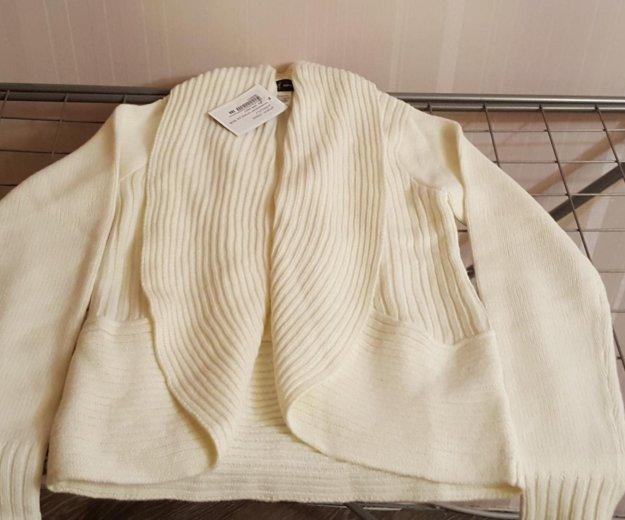 Пуловер белый новый 42-44. Фото 2. Москва.