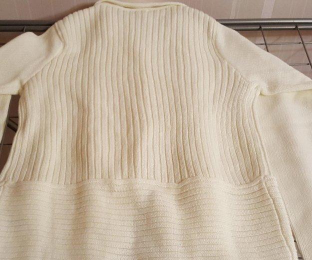 Пуловер белый новый 42-44. Фото 3. Москва.
