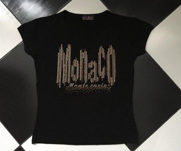 Женская футболка attitude paris чёрная размер s. Фото 1. Москва.