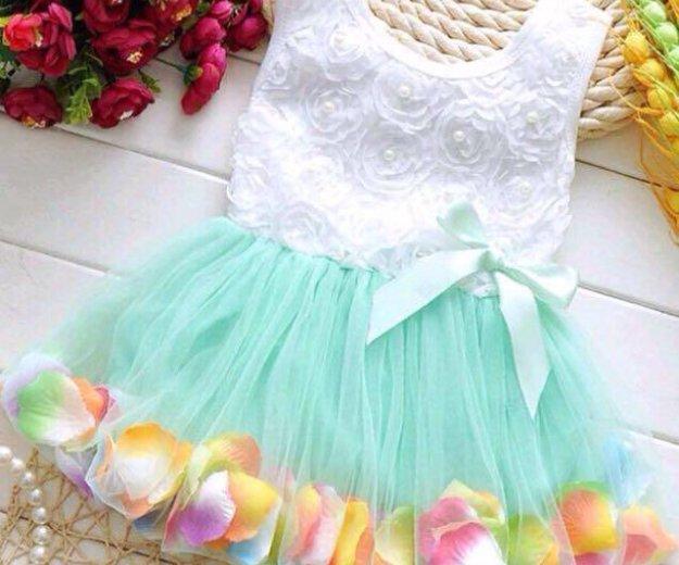 Платье новое ,на девочку. Фото 1. Лобня.
