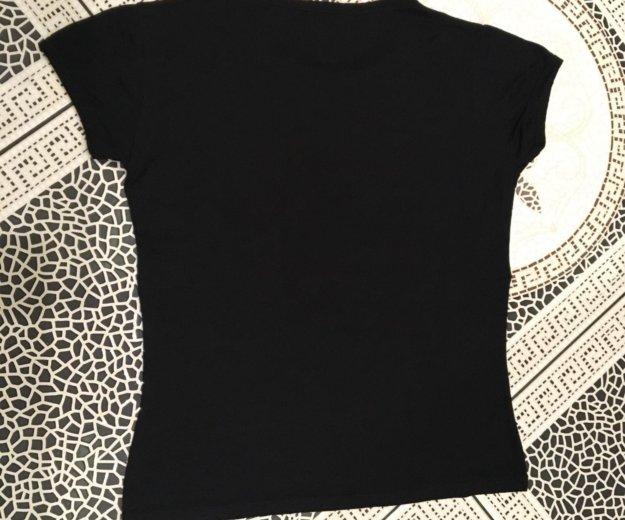 Женская футболка attitude paris чёрная размер s. Фото 3. Москва.