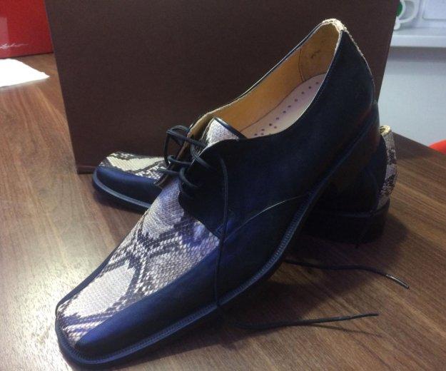 Туфли мужские новые 41 размер. Фото 1. Химки.